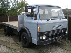 1969 Ford D550 D series 7.5 ton lorry  For Sale