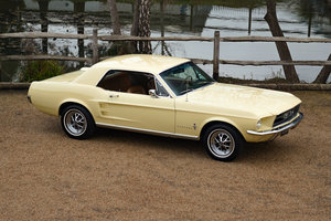 1967 67 Low mileage Ford Mustang V8 Coupe SOLD