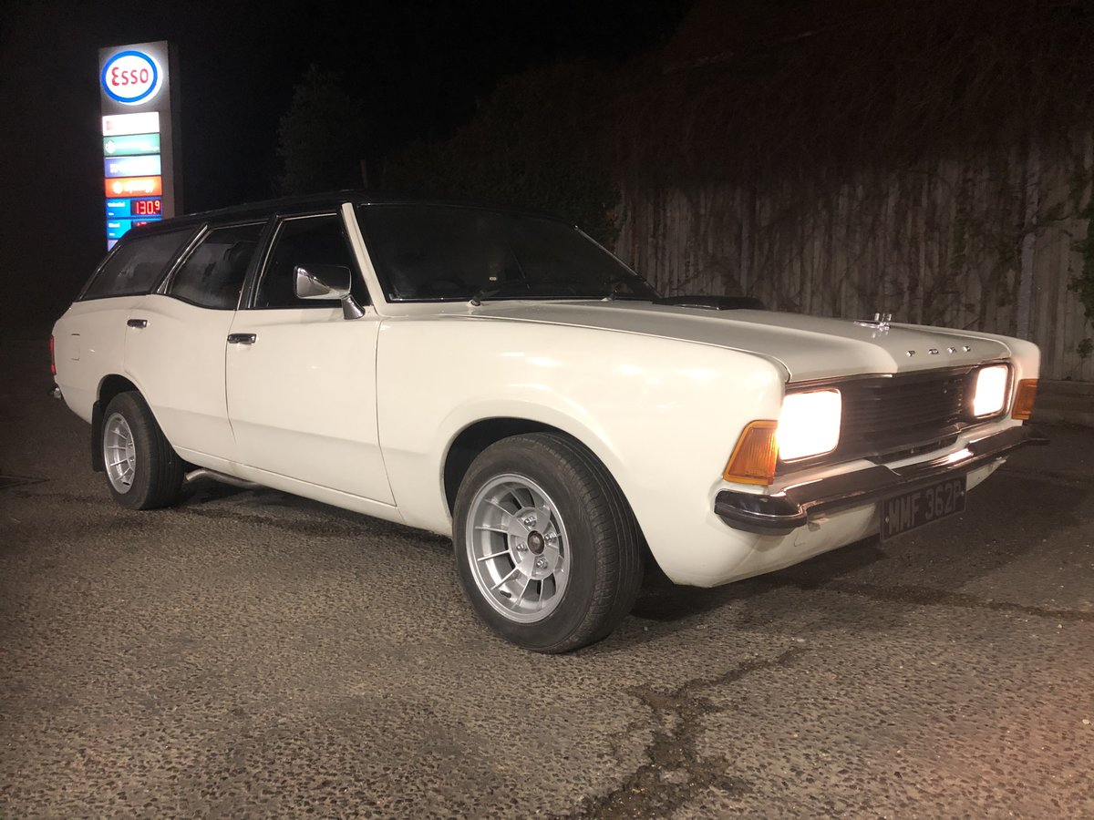 1976 Ford Cortina mk3 3.0 essex For Sale (picture 1 of 6)