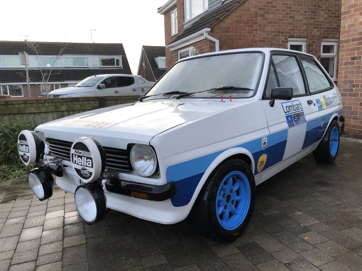1982 Ford Fiesta Rally Car Mk1 For Sale (picture 1 of 6)