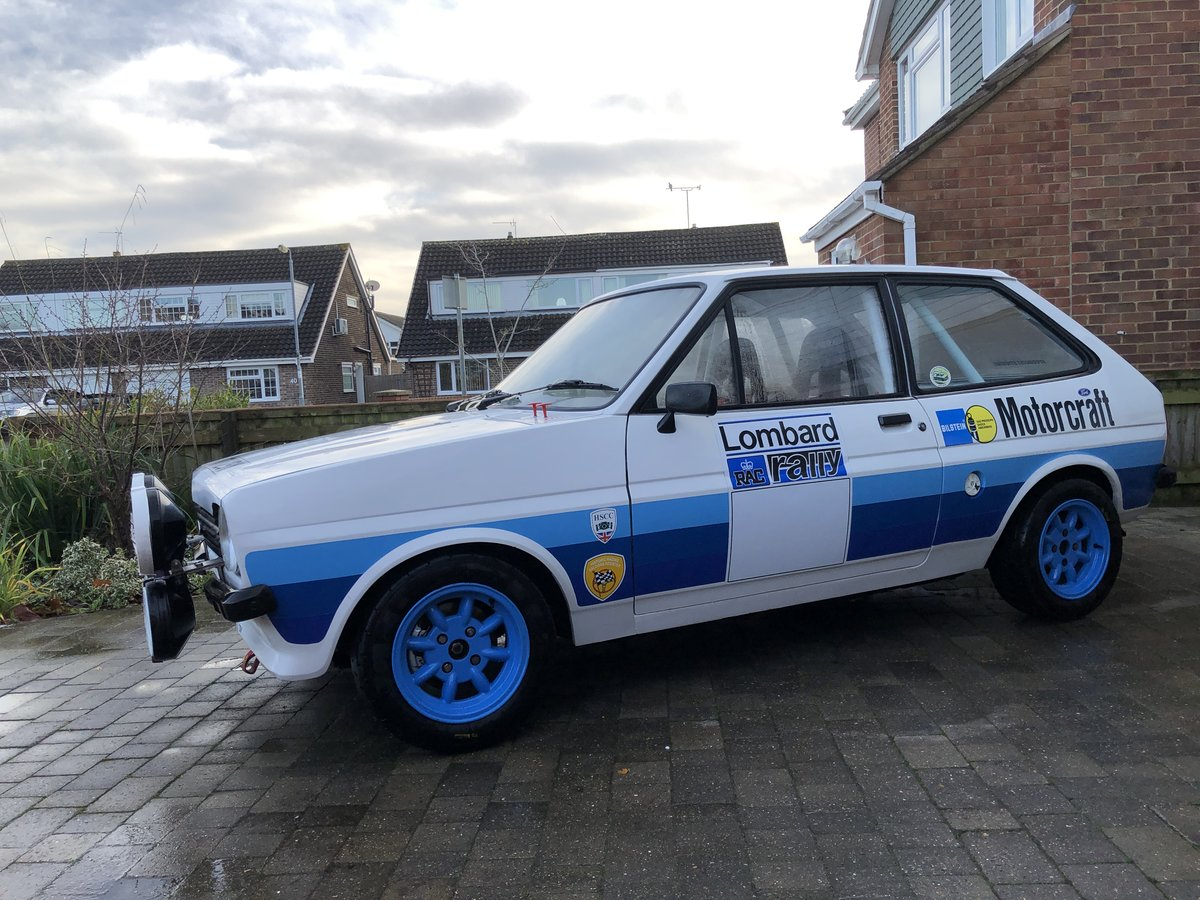 1982 Ford Fiesta Rally Car Mk1 For Sale (picture 2 of 6)
