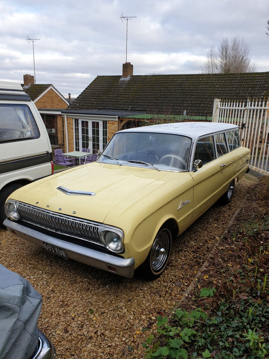 1962 Ford Falcon Two Door Station Wagon For Sale (picture 1 of 6)