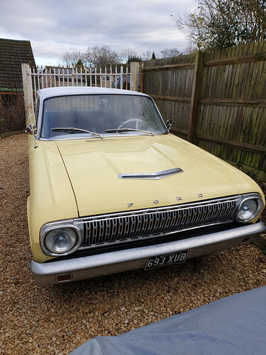 1962 Ford Falcon Two Door Station Wagon For Sale (picture 2 of 6)