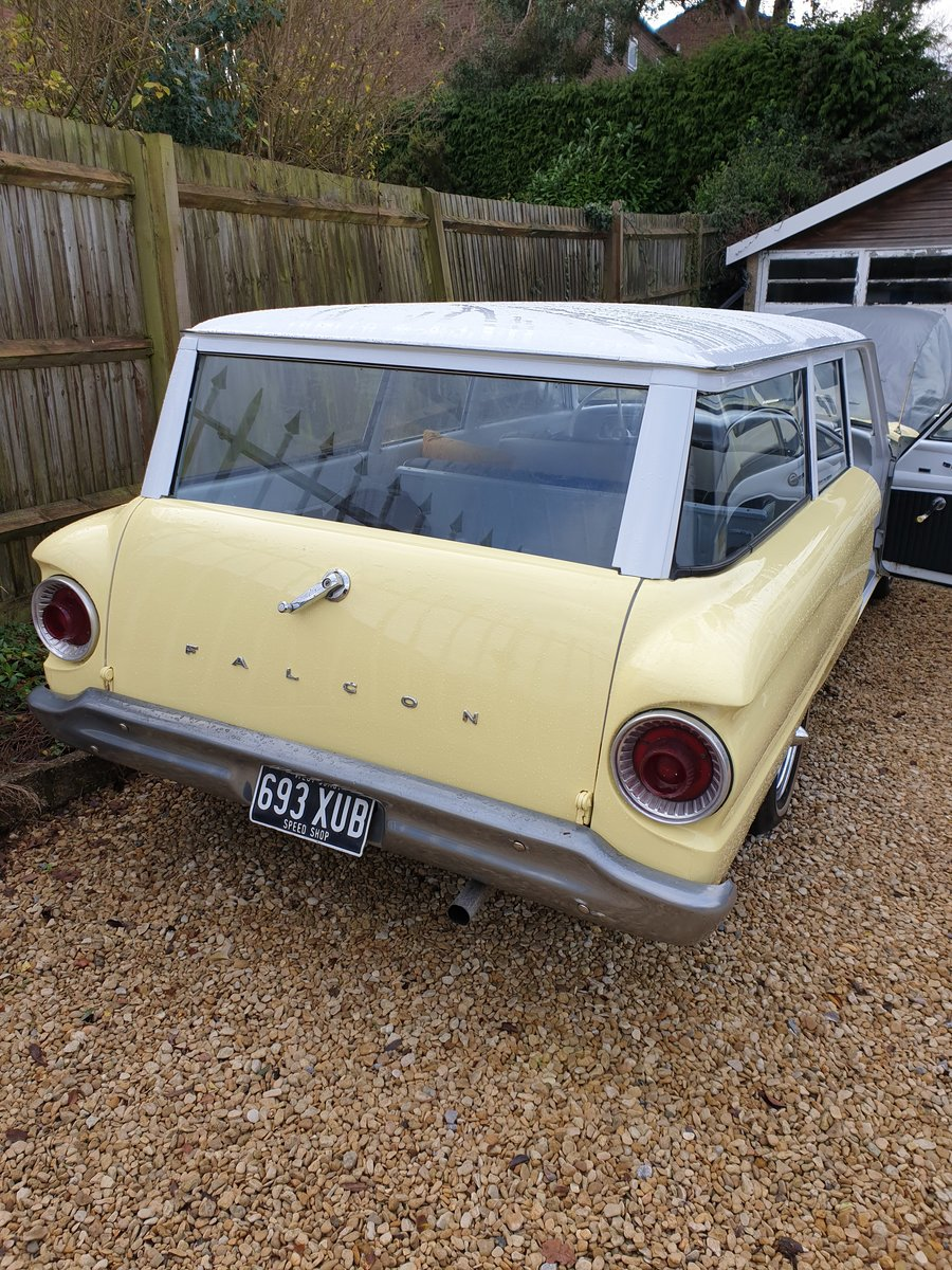 1962 Ford Falcon Two Door Station Wagon For Sale (picture 3 of 6)