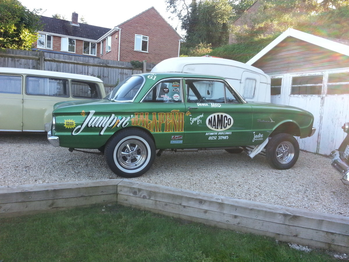 1961 Ford Falcon Two Door Gasser For Sale (picture 1 of 6)