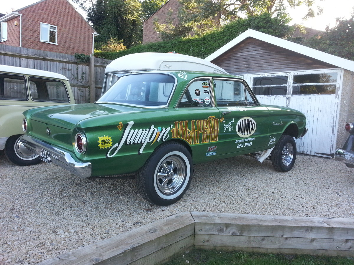 1961 Ford Falcon Two Door Gasser For Sale (picture 2 of 6)