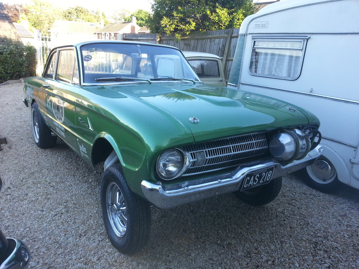 1961 Ford Falcon Two Door Gasser For Sale (picture 4 of 6)