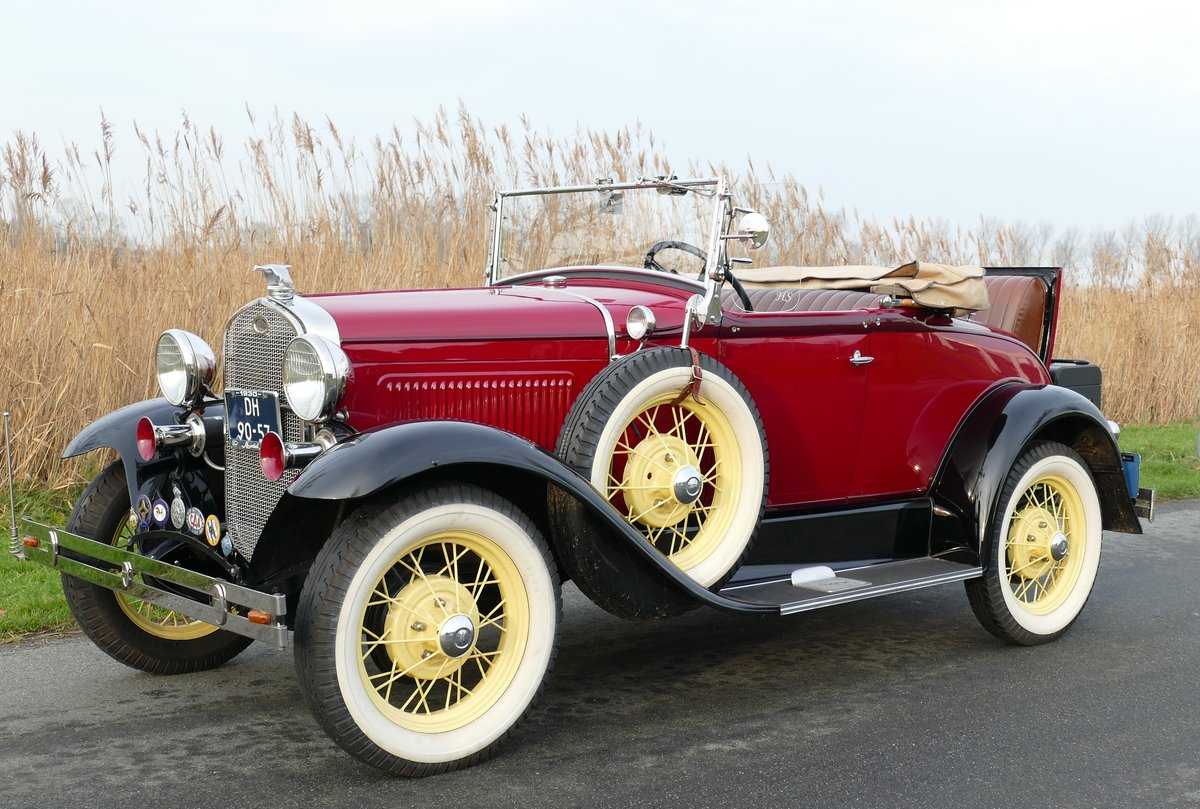 Ford Model A Deluxe Roadster 1930   For Sale (picture 1 of 6)