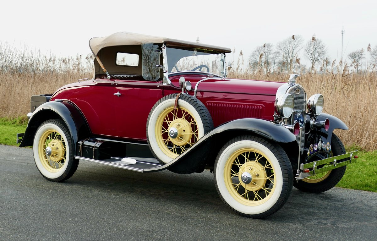 Ford Model A Deluxe Roadster 1930   For Sale (picture 2 of 6)