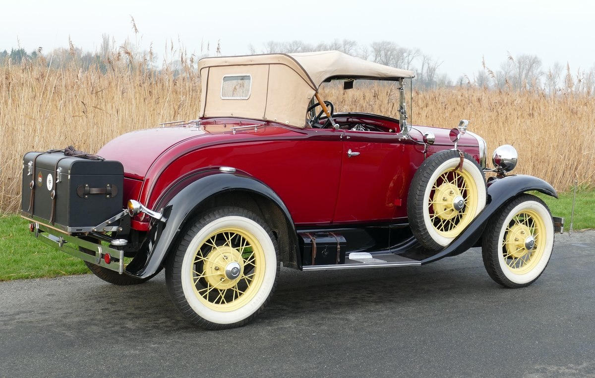 Ford Model A Deluxe Roadster 1930   For Sale (picture 3 of 6)