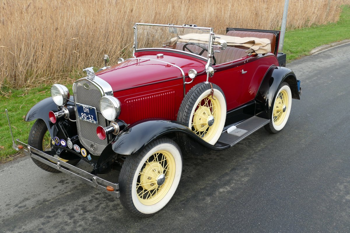 Ford Model A Deluxe Roadster 1930   For Sale (picture 6 of 6)