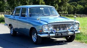 FORD ZODIAC MK3 STUNNING DEEP BLUE PAINT & SPARKLING CHROME
