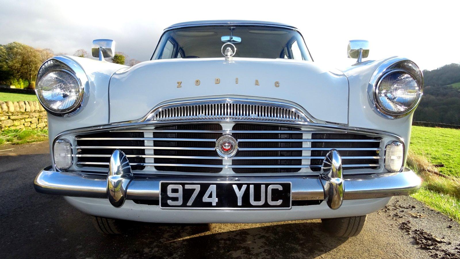 1960 FORD ZODIAC MK2 LOWLINE ORIGINAL TWO TONE COLOUR SCHEME For Sale (picture 3 of 6)