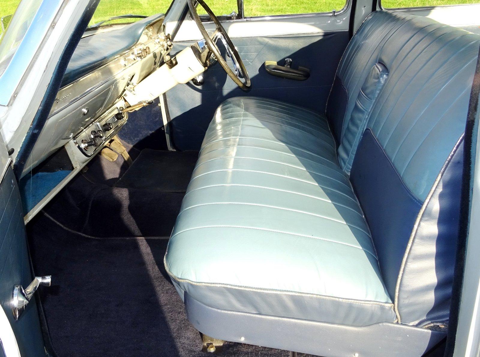 1960 FORD ZODIAC MK2 LOWLINE ORIGINAL TWO TONE COLOUR SCHEME For Sale (picture 6 of 6)