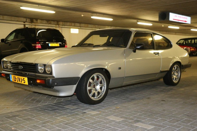 1985 Ford Capri RHD 2,9 injection 1984 For Sale (picture 1 of 6)