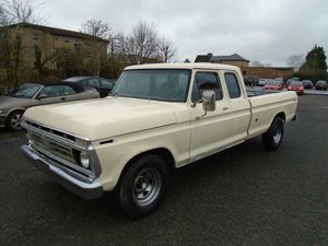 1976 FORD F250 RANGER SUPERCAB 6.6 V8 2WD XLWB PICKUP For Sale