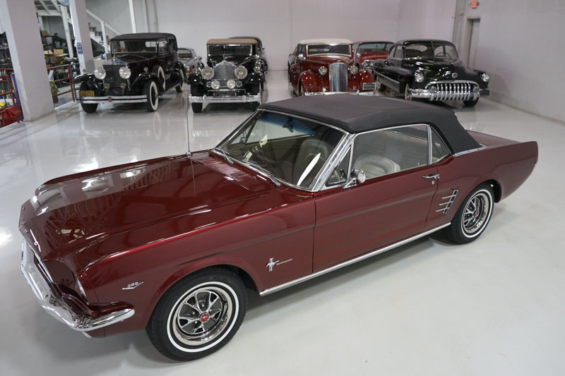 1966 Ford Mustang Convertible For Sale (picture 4 of 6)