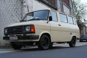 1986 Ford Transit MK2 minibus - only 37000km / 23000mls