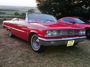 1963 Ford Galaxie Convertible at ACA 25th January