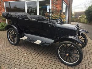 1921 FORD MODEL T TOURER (Recommissioning/restoration project) For Sale