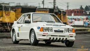 1984 Ford RS1700T Rally = very Rare 1 of 18 made  $469k