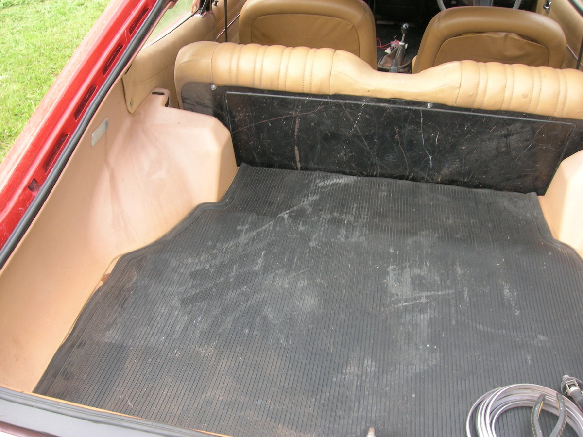 1975 ford capri very sound rust free body For Sale (picture 6 of 6)