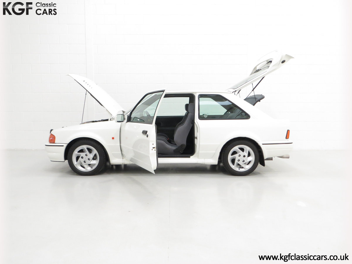 1990 A Stunning 90 Spec Ford Escort RS Turbo with 43,996 Miles For Sale (picture 3 of 6)