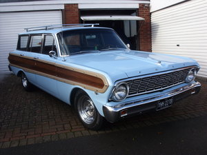1964 ford falcon squire wagon