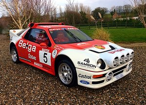 1986 FORD RS200 EVO BELGA TEAM RECREATION COSWORTH 2WD STUNNER