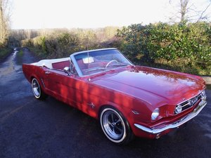 1966 Mustang convertible V8 For Sale