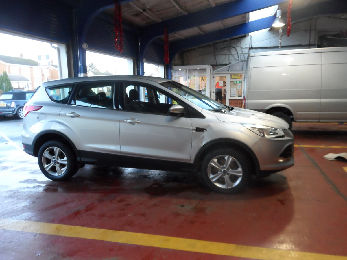 2013 KUGA 4X4 2LTR DIESEL IN BLUE 85K WITH F.S.H MOTED 2021  For Sale (picture 2 of 5)