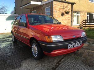 1992 Time Warp Ford Fiesta MK3 LX SOLD