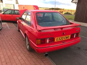 1990 Escort S2 Rs Turbo For Sale