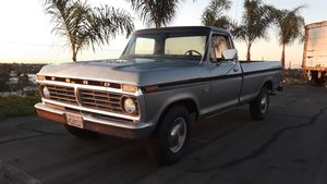 1973 Ford F250 great condition inside and out