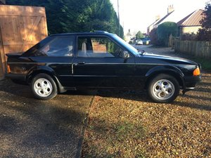 1982 Ford Escort XR3 at ACA 25th January  For Sale