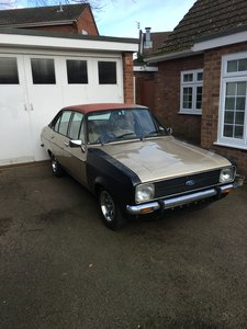 1978 Ford Escort 1.6Ghia - Restoration project For Sale
