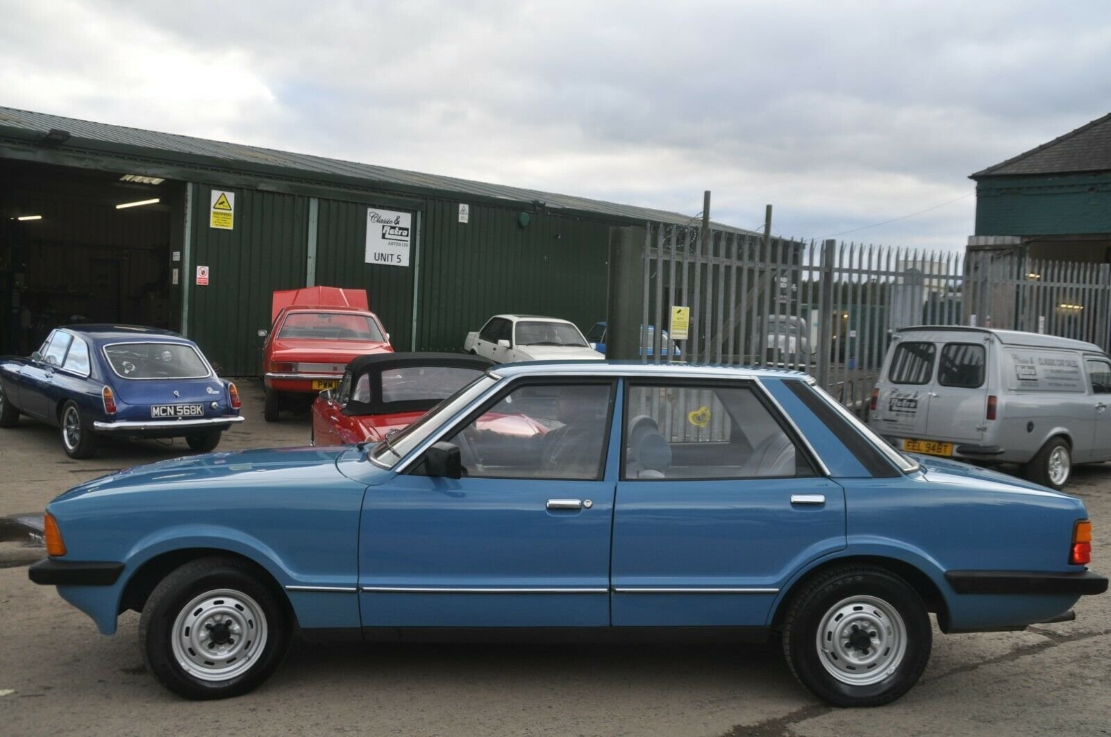 1981 FORD CORTINA L MK5 LOW MILES  For Sale (picture 1 of 6)