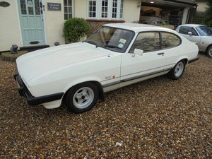1986 Ford Capri White 1.6 Laser
