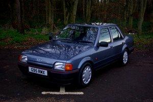 1989 Ford Orion GLSi 1.6 EFi