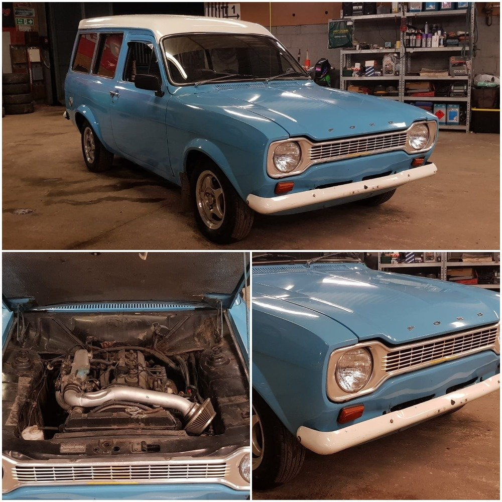 1973 Ford Escort MK1 Van For Sale (picture 1 of 5)