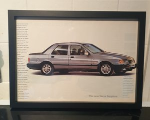 Picture of 1987 Ford Sierra Sapphire Advert Original
