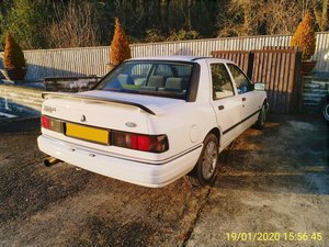 1991 Ford Sierra Cosworth 4x4 for light restoration MOT