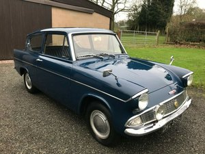1965 FORD ANGLIA 105E DELUXE BLUE ** RUNNING GARAGE FIND ** For Sale