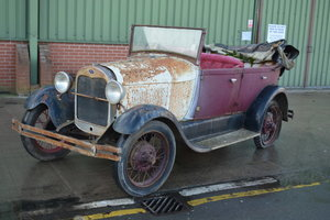 1926 Ford Model A Tourer For Sale by Auction