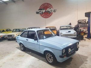 1980 Ford Escort 1600 Sport - Superb Condition For Sale