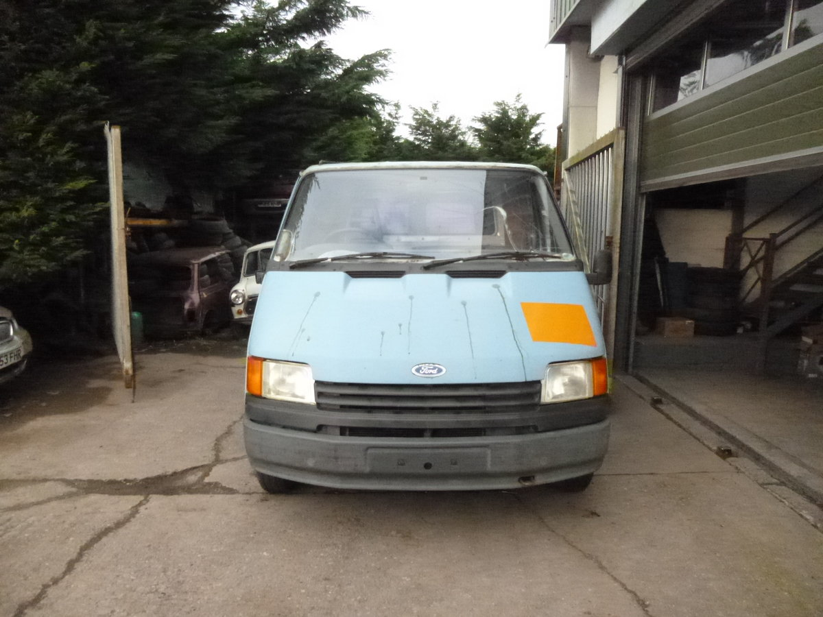 1990 Ford transit 80 Mk3 spares or repairs project  SOLD (picture 1 of 6)