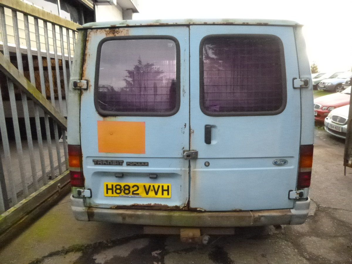 1990 Ford transit 80 Mk3 spares or repairs project  SOLD (picture 3 of 6)