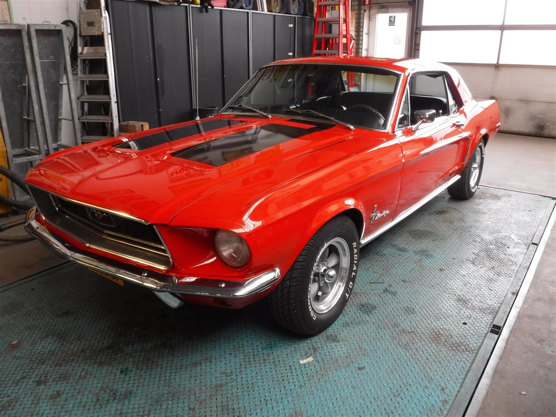 1968 Mustang J-Code