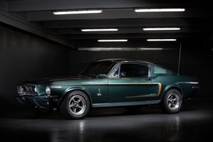 """1968 Ford Mustang GT 390 """"Bullitt"""" fastback No reserve For Sale by Auction"""
