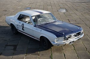 1967 Ford Mustang GT 390 Coupé Gr. I Ex-Johnny Hallyday For Sale by Auction